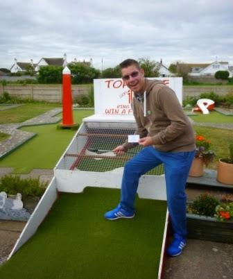 Arnold Palmer Crazy Golf in Prestatyn