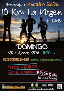 10 km la virgen 2016