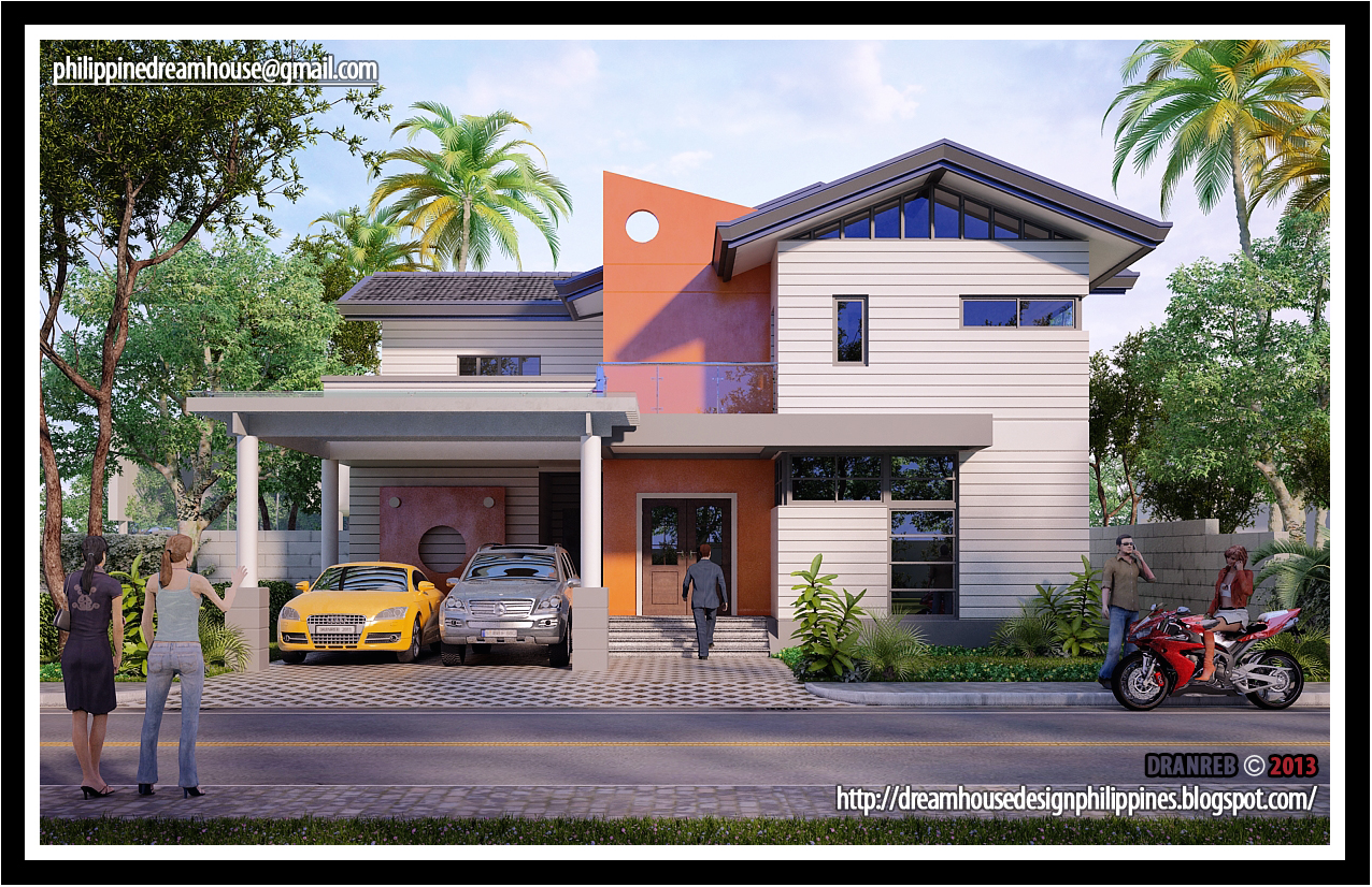Philippine dream house design two storey house design for Two storey house design philippines