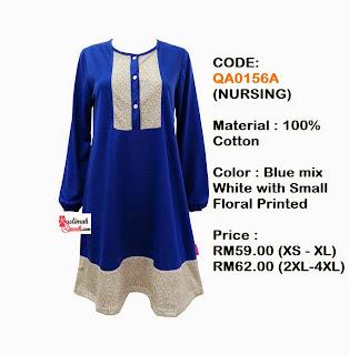 T-Shirt-Muslimah-Qaseh-QA0156A