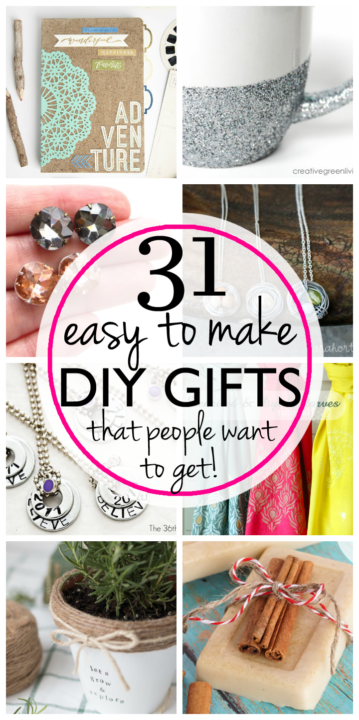 31 easy inexpensive diy gifts your friends and family for Easy presents to make for friends