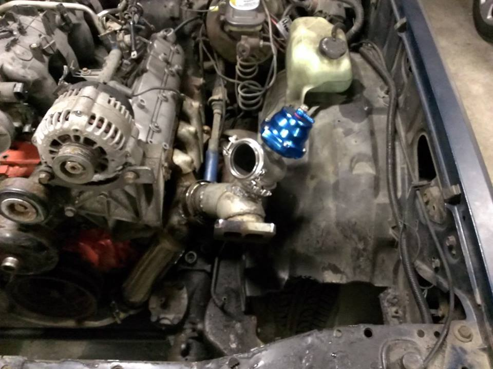 Sloppy Mechanics: junkyard dipstick and wastegate placement