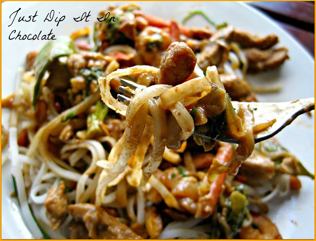 Combination Stir Fry with BBQ Peanut Sauce Recipe, not enough chicken to feed your o 4 but plenty of veggies left? Give this recipe a try. All the flavors of your favorite take out only better and for a lot less! #stirfry