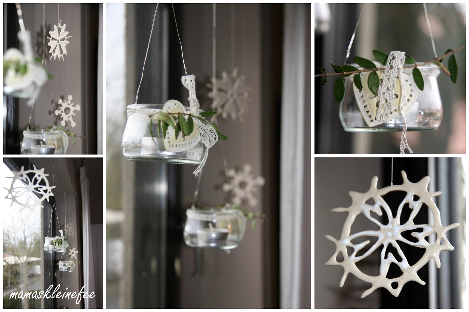Fensterdeko häkeln weihnachten  mamaskleinefee: Jahreszeitenkranz - Winterzeit