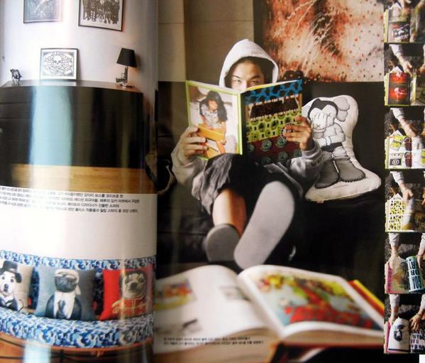 [SCAN] 130720 Taeyang's Home In Vogue Korea Magazine