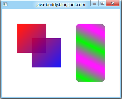 JavaFX 2.0: fill with LinearGradient