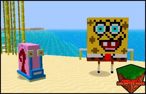 Toon Town mod sponge bob
