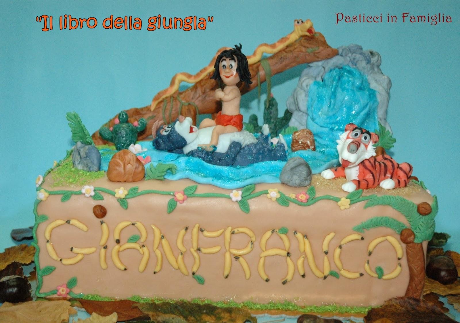Pasticci in famiglia sugar cake quot il libro della giungla