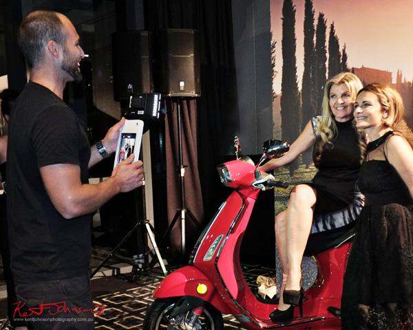 Photos on the Appian Way on a Piaggio VESPA Australia. Sydney Italian Festival Launch - Street Fashion Sydney