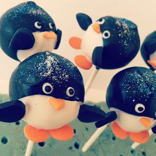 Penguin Cake Pops Instructions