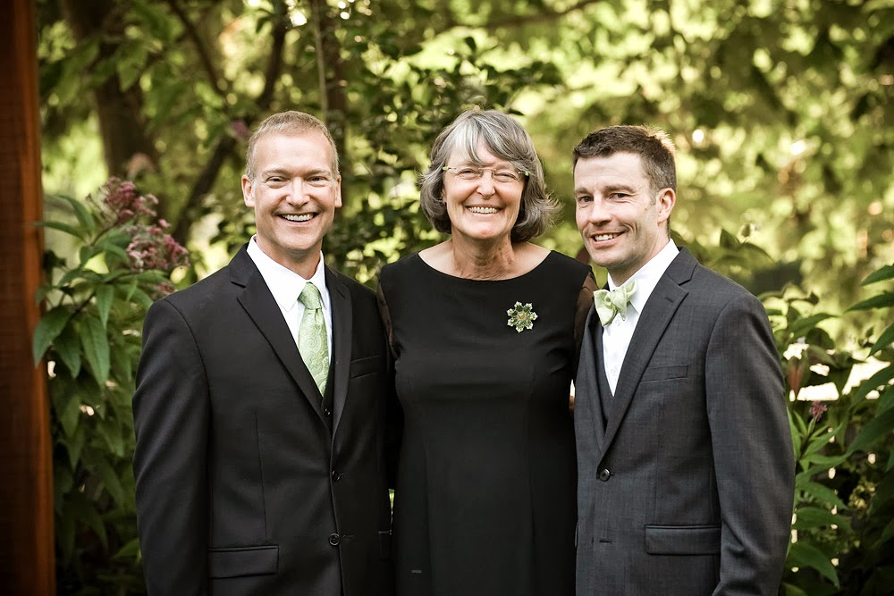 Mark, Patricia Stimac (A Heavenly Ceremony) and Mike - Malcolm Smith, Photographer