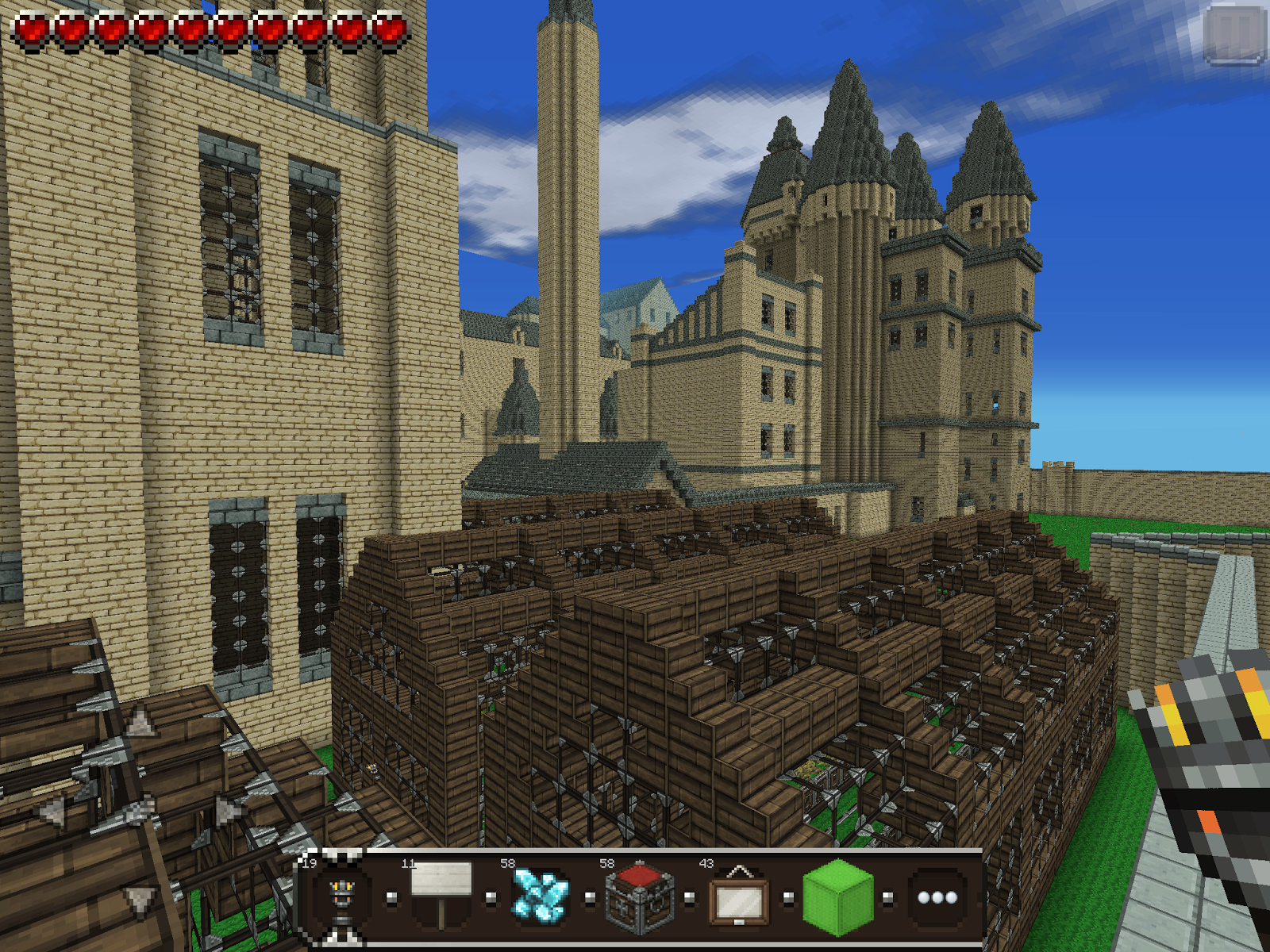 Hogwarts School Of Witchcraft And Wizardry MCPE Maps