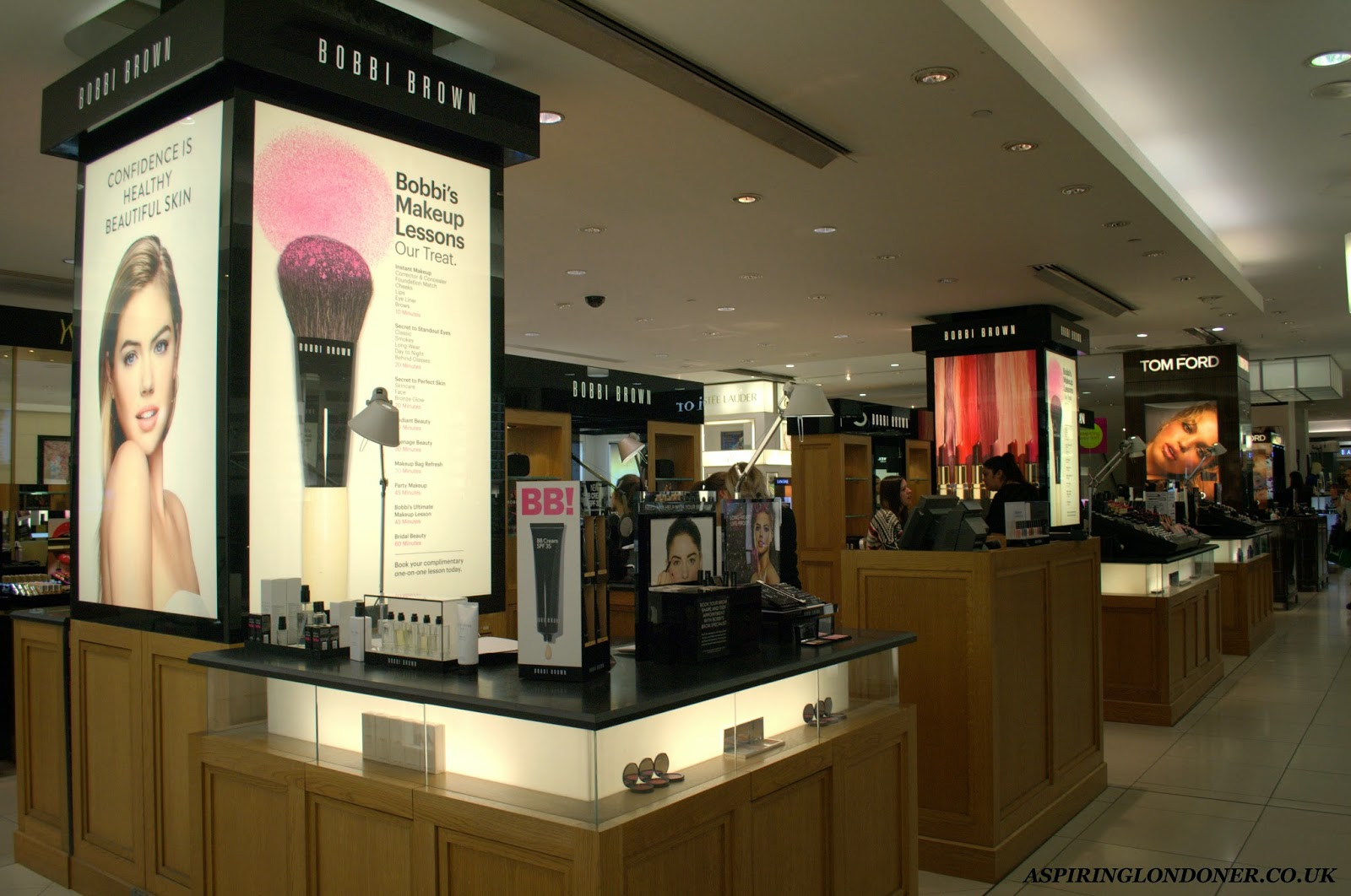 Newcastle Fenwick Beauty Week Bobbi Brown Complimentary Makeup Lessons - Aspiring Londoner