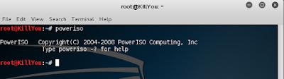 Cara Install PowerISO di Kali Linux