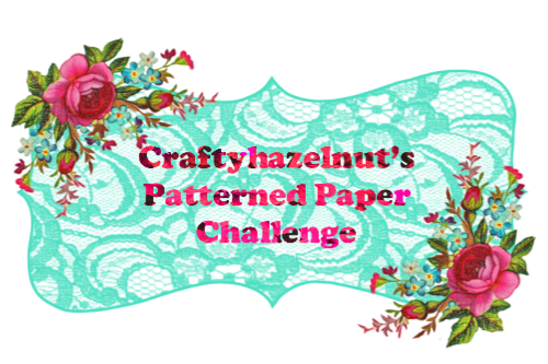 Crafty Hazelnut's Patterned Paper Challenge