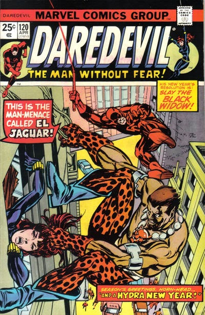 Daredevil #120, El Jaguar