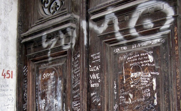 Rrp racinguistas ricoteros peronistas luca un merecido homenaje - La casa de luca ...