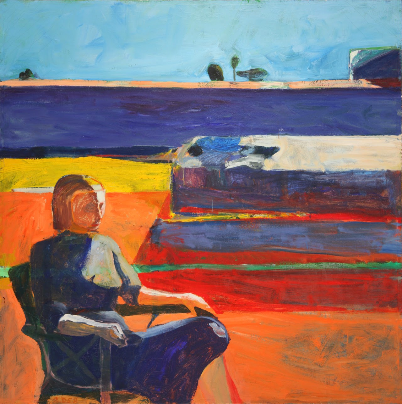 Richard diebenkorn abstract and figurative expressionism for Artistic mural works
