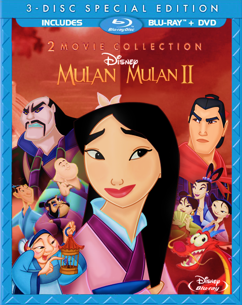 Amazon.com: Mulan / Mulan II (3-Disc Special Edition) [Blu-ray ...