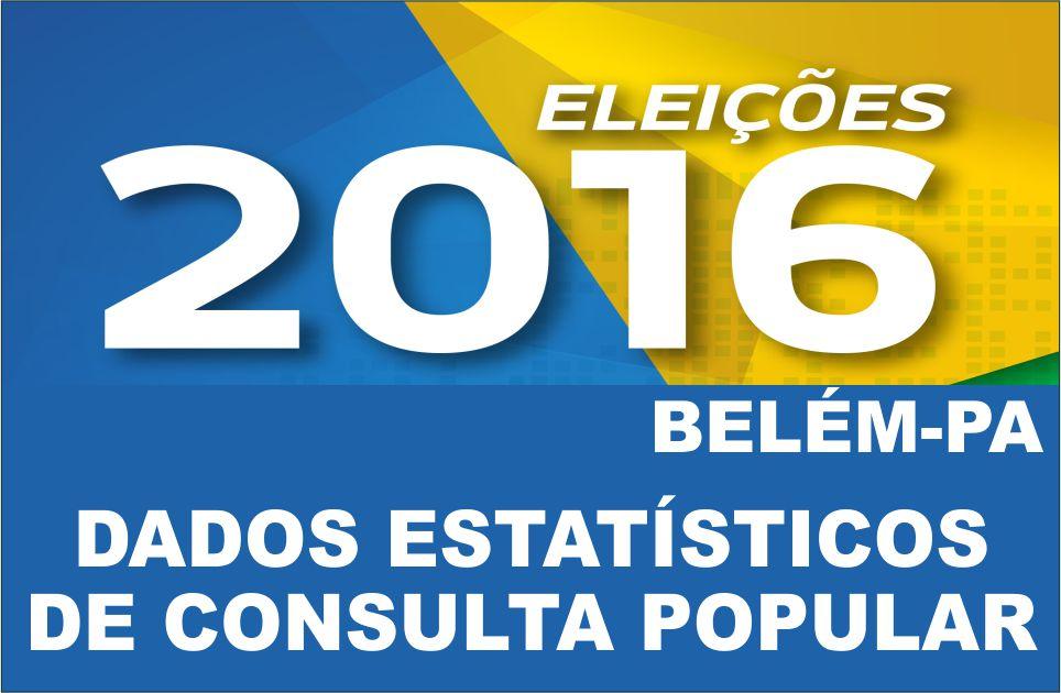 PESQUISA ELEITORAL 2016