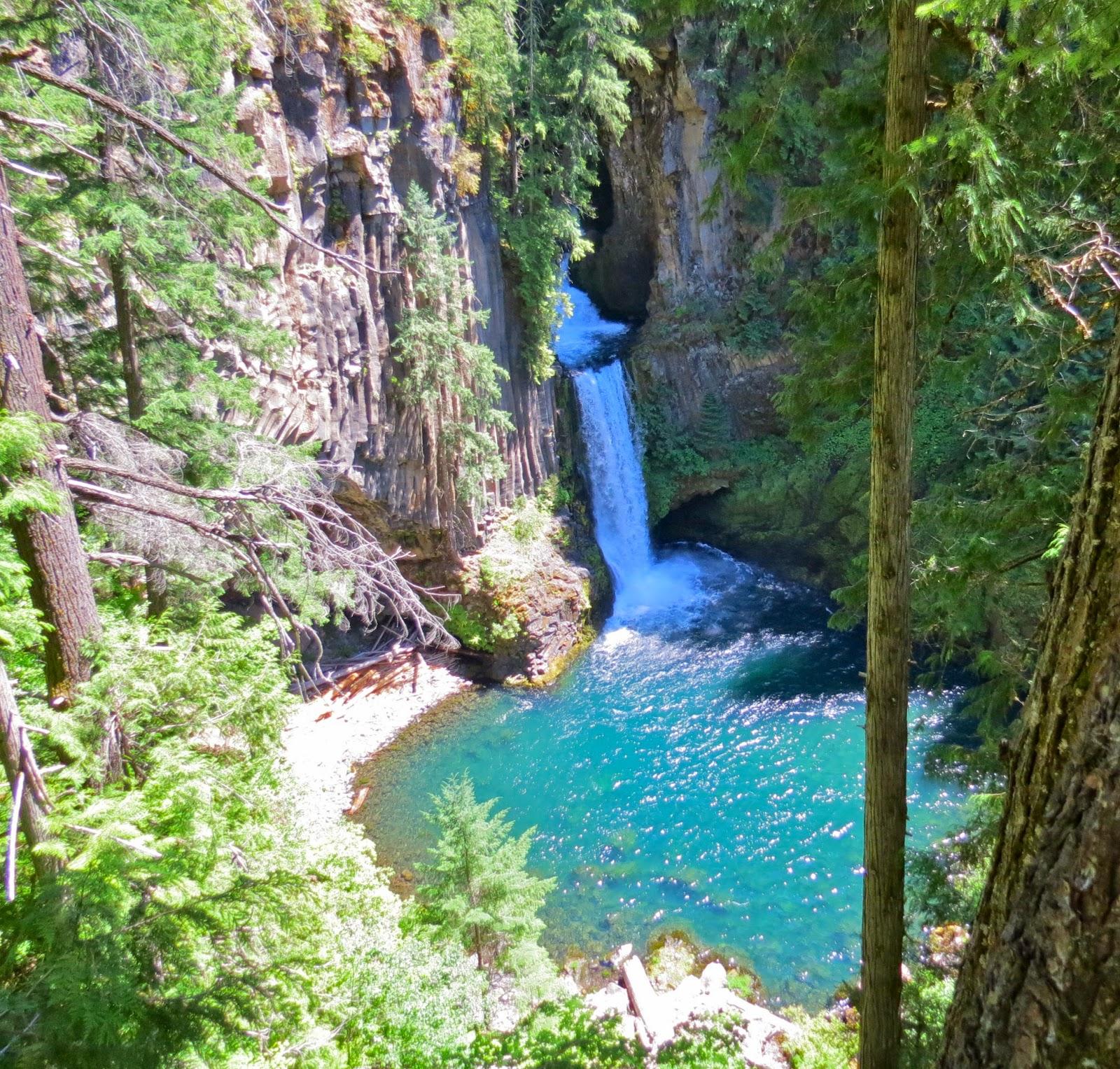 Basalt Stone Umpqua National Forest : Where s liz toketee campground umpqua national