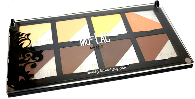 palette contouring e highlighting