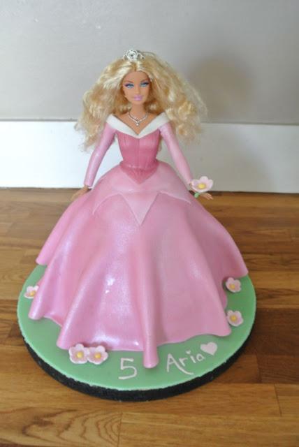 Fifth Street Cakes Sleeping Beauty Barbie Cake