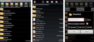 AndroZIP - Cara membuka file RAR ZIP di Android