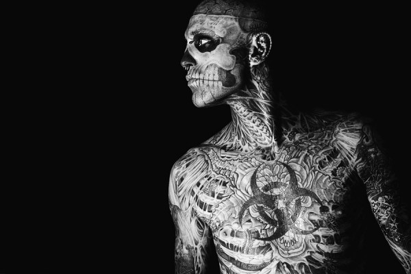Rick Genest (Zombie Boy) by Kirill Stepanov