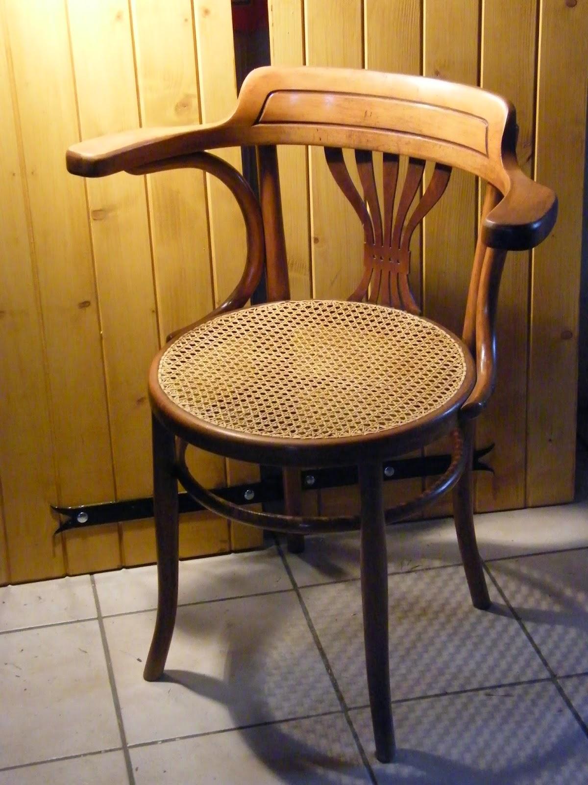 normandie cannage fauteuil de bureau cann. Black Bedroom Furniture Sets. Home Design Ideas