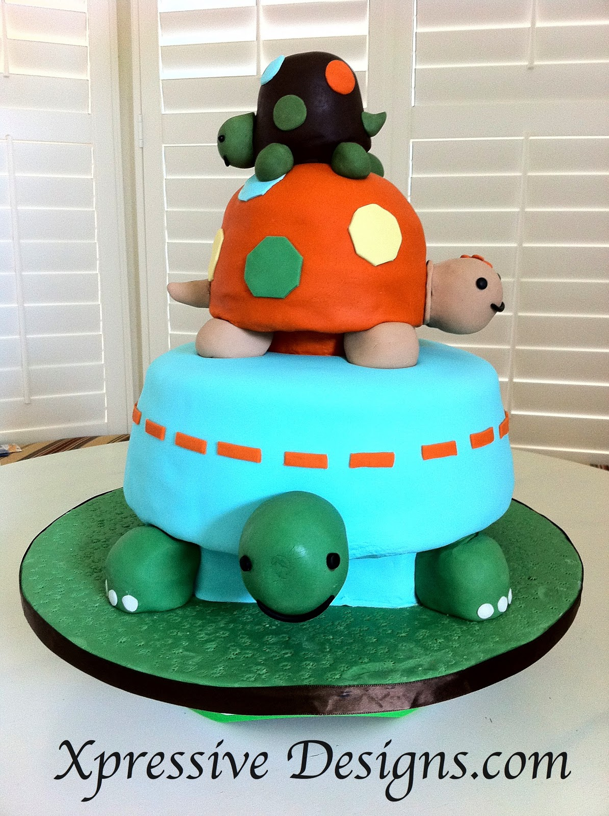 turtle cake cake ideas and designs
