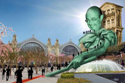 gare de Tours projet ilot Vinci la tour Jean Germain