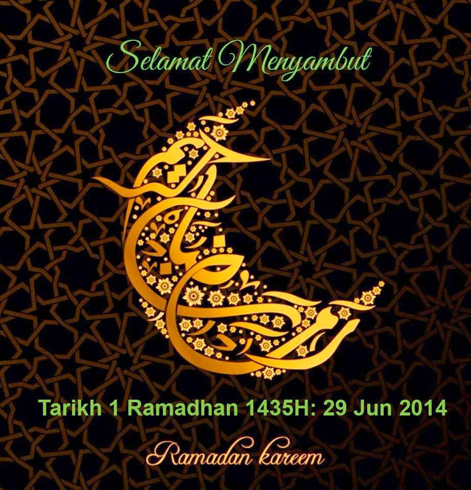 Salam Ramadhan 1435 H