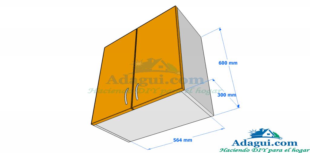 Planos de muebles de cocina interesting diseo de muebles for Planos de cocina lineal