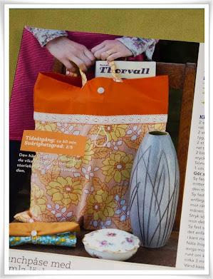 Tips från tidning, hopvikbar kasse