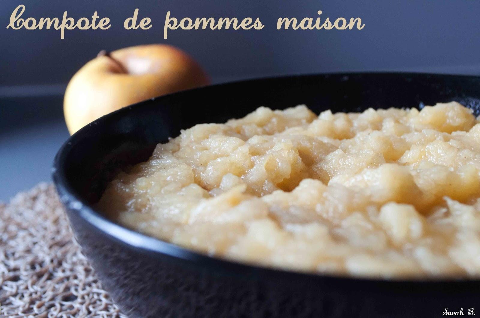 Compote de pommes maison blogs de cuisine - Compote de poire maison ...