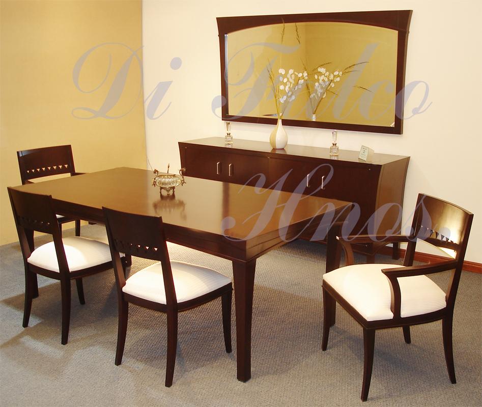 Muebles di falco comedores modernos for Comedores modernistas