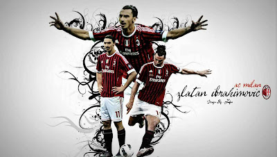 New Zlatan Ibrahimovic -A.C.Milan Wallpaper