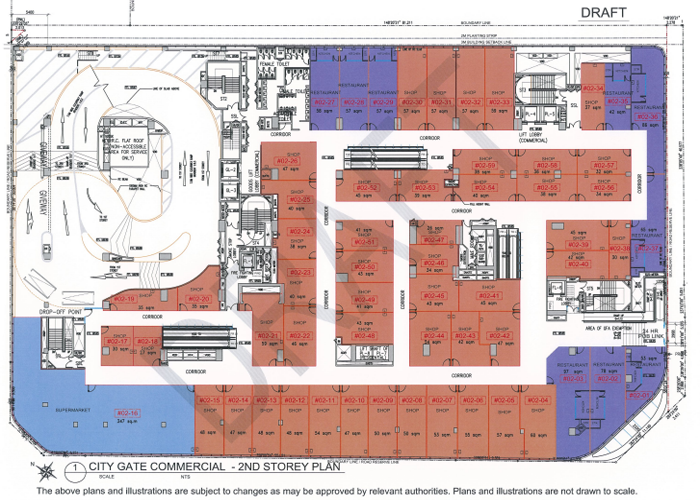 typical plan - Singapore City Gate floor Plan