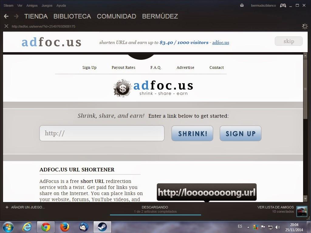 Adfoc.us pop-ups