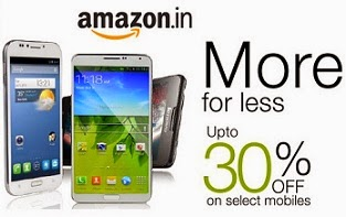 Get upto 30% Off on Select Latest Mobiles @ Amazon