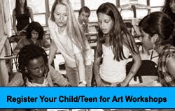 KIDS & TEENS ART PROGRAMS