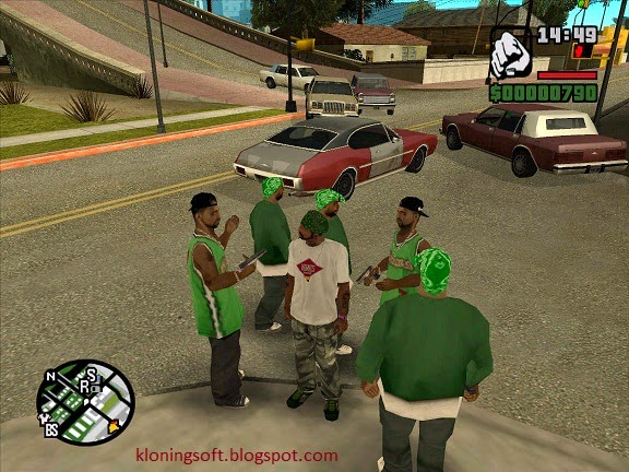Free Download Games for PC GTA San Andreas Full Version