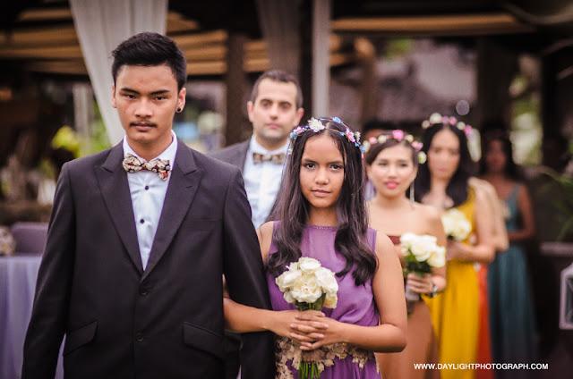 foto bridesmaid and bestman di pernikahan louisa dan zico di lapangan hanoman ramayana prambanan yogyakarta