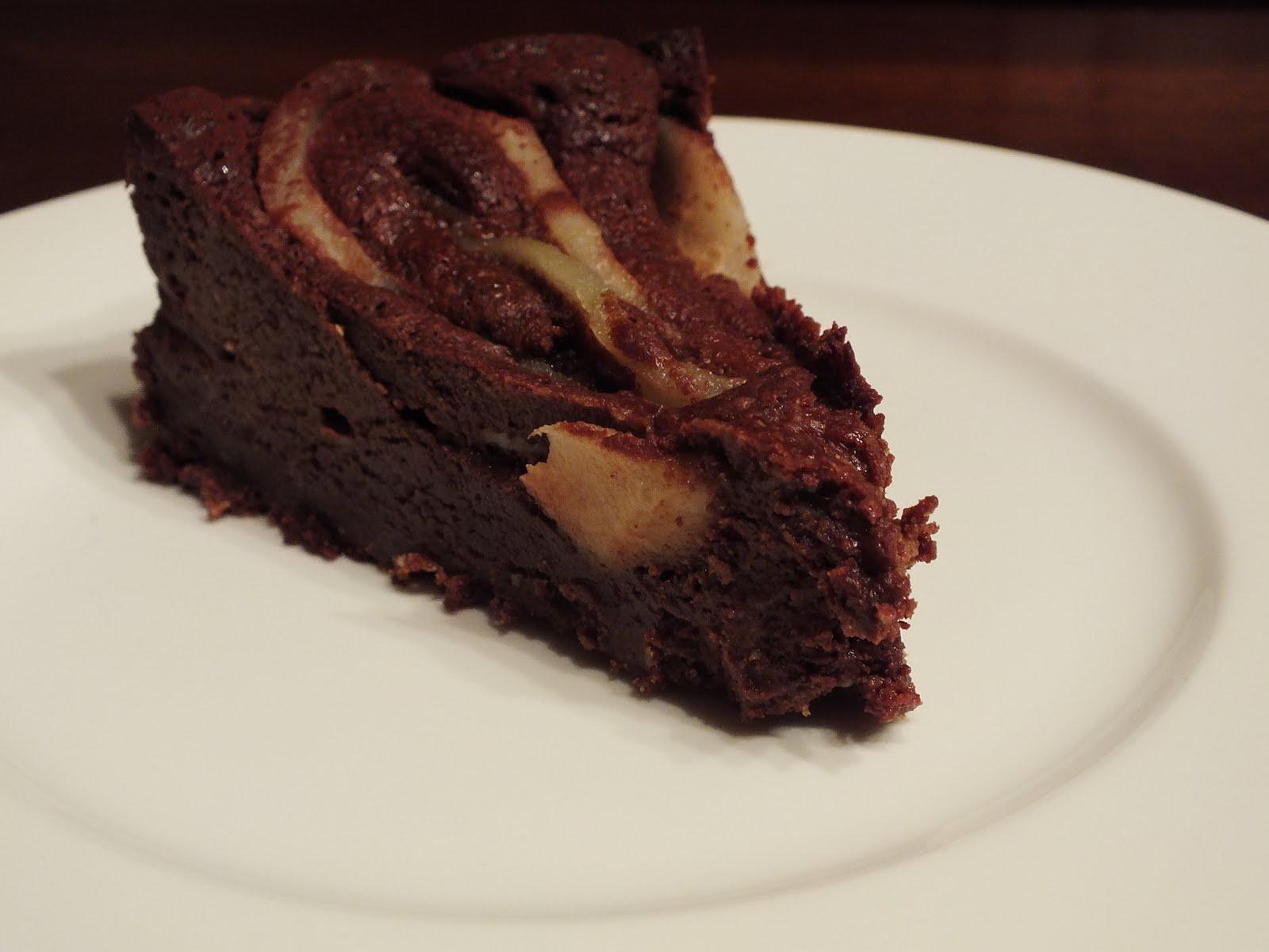 Torte Da Credenza Al Cioccolato : Il ciliegio della nonna torta morbida cioccolato e pere