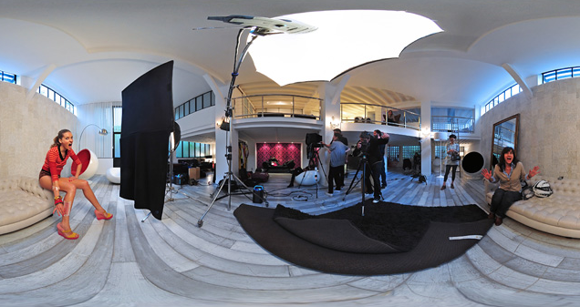 Madame Figaro Making Off 360 degrés Shooting Mode Beauté