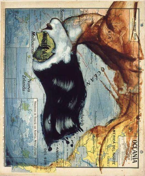 fernando vicente ilustrações pinturas mapas atlas animais figuras humanas