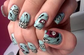 modelos de unhas para usar haloween