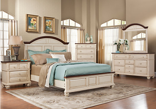 White Queen Bedroom Set
