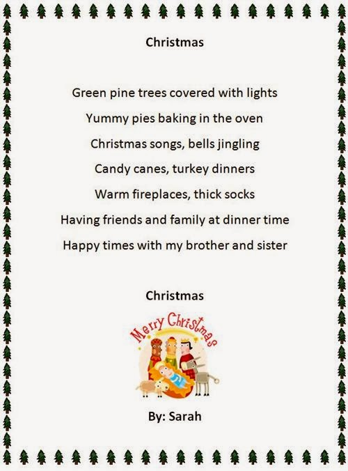 Meaning Christmas Poems For Family